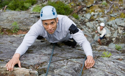 $95 for a Four-Hour Rock-Climbing or Rappelling Tour for Two from New River Climbing School ($190 Value)