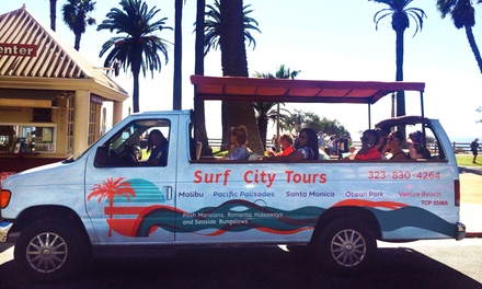 Malibu Stars' Homes and Beach Tour for Two, Four, Six, or Eight from Surf City Tours (Up to 55% Off)