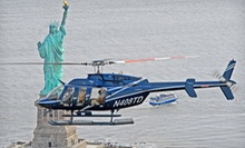 15-, 20-, or 30-Minute Helicopter Tour of New York City from Helicopter Flight Services, Inc. (Up to 40% Off)