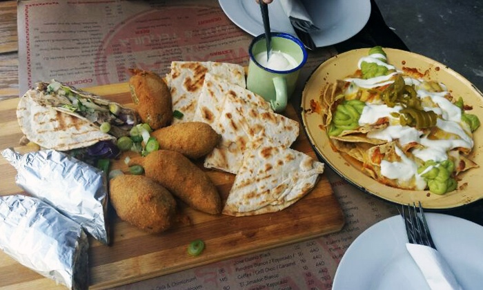 Mexican on Long - Cape Town: Mexican or Chef's Platter From R142.50 at Mexican on Long (Up To 52% Off)