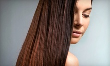 $99 for a Keratin Hair-Smoothing Treatment at Salon Mirage (Up to $375 Value)