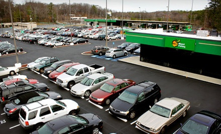 2, 4, 6, or 10 Consecutive Days of Outdoor Parking at Peachy Airport Parking (Up to Half Off)