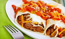 Mexican Food and Drinks for Two or Four at Poco Loco Mexican Restaurant (Up to 56% Off)
