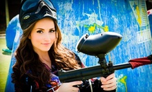 All-Day Paintball Package for 4, 8, or 12 with Equipment Rental at Paintball International (Up to 77% Off)