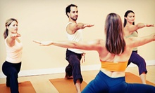 5 or 10 Yoga Classes at The Practice Yoga Studio (Up to 60% Off)