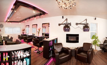 Womens or Mens Haircut Package with Deep Conditioning and Style at Westk Hair &amp; Makeup Studio (Up to 64% Off)