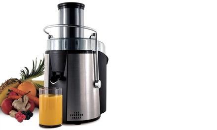 The Sharper Image Stainless-Steel 700-Watt Super Juicer
