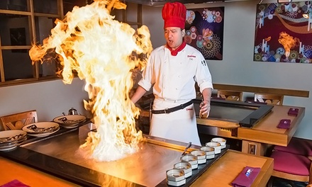 Four-Course Prix Fixe Teppanyaki Dinner for One or Two at Benihana Japanese Steakhouse (Up to 45% Off)