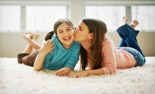 Carpet Cleaning for Three or Six Rooms from Aim Carpet and Air Duct Cleaning (Up to 61% Off)