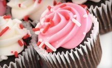 One or Two Dozen Regular or Jumbo Cupcakes from Blissful Buttercream Cupcakery (Up to 58% Off)