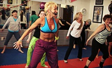 10 or 20 Zumba, Kickboxing, Pilates, or Boot-Camp Classes at Knock Out Fitness (Up to 59% Off)