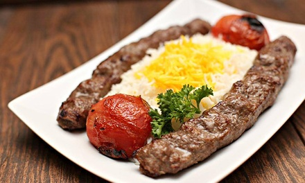 $14 for $24 Worth of Kabobs and Persian Food at Moby Dick House of Kabob