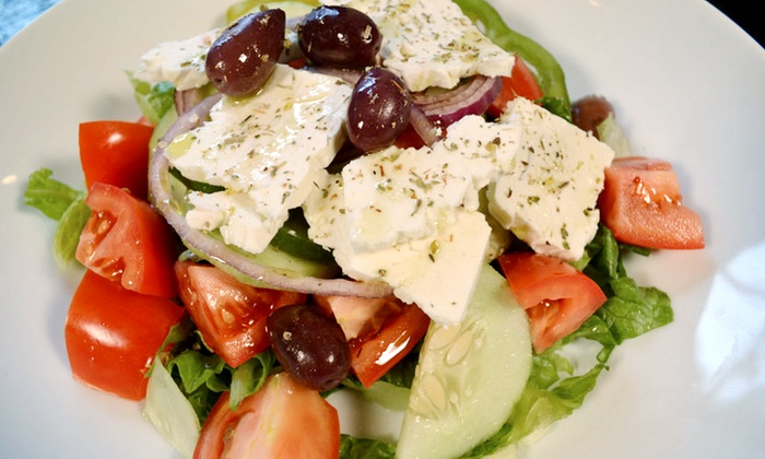 Greek cuisine ammos authentic greek cuisine groupon for Authentic greek cuisine