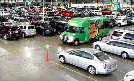 2, 4, 6, or 10 Consecutive Days of Indoor Parking at Peachy Airport Parking (Up to 54% Off)