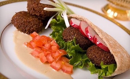$10 for $20 Worth of Middle Eastern Cuisine at Babylon