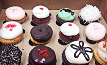 One or Two Dozen Cupcakes at Swirls Cupcakery (Up to 56% Off)
