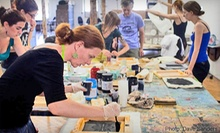 Art Workshop for One or Two at Brooklyn Art Space (Up to 67% Off)