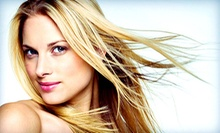 Haircut and Condition with Optional Color or Partial Highlights or Full Highlights at Avalon Hair Design (Up to 51% Off)