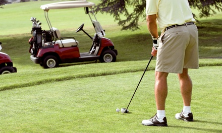18-Hole Rounds of Golf with Cart Rental at Cherry Creek Golf Club (Up to 53% Off)