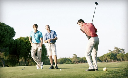 Weekday Round of Golf for Two, or Four Large Buckets of Driving Range Balls at Terrace Lakes Resort (Up to 58% Off)