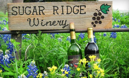Wine-Bottling Class for 2, 4, 6, or 10 at Sugar Ridge Winery in Bristol (Up to 60% Off)