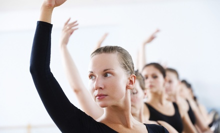 10 or 20 Ballet Barre, Tai Chi, Yoga, or Belly Dancing Classes at Work It! Studio (Up to 80% Off)
