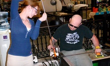 Glass-Blowing Project for One or Two at Uptown Glassworks (Up to 59% Off)