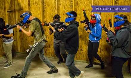 Indoor Airsoft with Equipment and 1,000 BBs for 1, 2, 4, 20, or 30 at VIP Airsoft (Up to 56% Off)