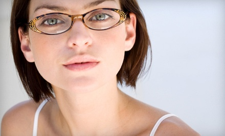 $39 for an Eye Exam and $200 Toward a Complete Pair of Prescription Eyeglasses at Amalgamated Eyes in Union ($275 Value)
