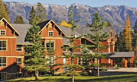 2-Night Stay for 4 in a Platinum Suite with $50 Spa Credit at Timberline Lodges in Fernie, BC. Combine Up to 4 Nights.