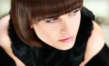 Haircut and Style with Conditioning Treatment or Partial Highlights from Mark Harmon at Salon Kendall (Up to 63% Off)
