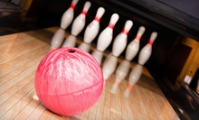 Bowling with Shoe Rental and Billiards for Two or Bowling with Shoes for Four at The Connection the UMC (51% Off)