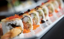 $25 for $50 Worth of Sushi for Dinner at Sushi Rock