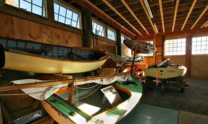 Catboat sail off cape cod cape cod maritime museum groupon for 700 salon hyannis