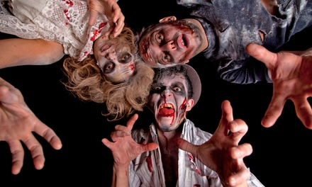 $39 for VIP Admission for Four to Psycho Ward & Nightmares Haunted House ($80 Value)