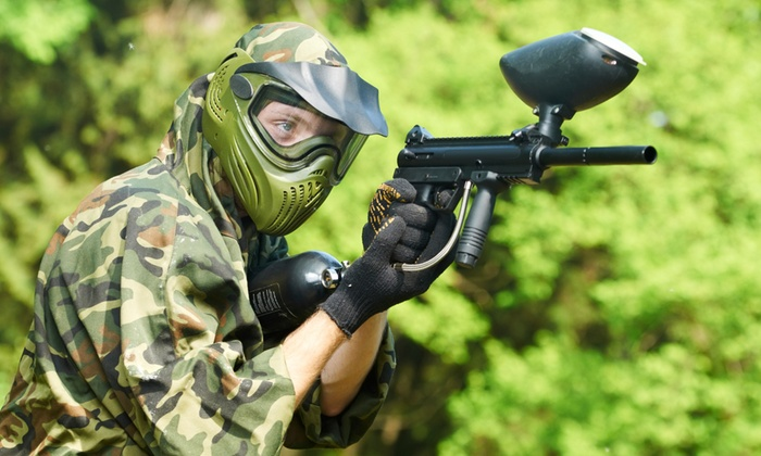 Bush Paintball - Bush Paintball: Paintball Game From R480 at Bush Paintball (Up To 60% Off)