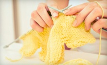 Introductory Knitting Kit or Beginners' or Three-Week Intermediate Knitting Course at littlelamb and Ewe (Up to 53% Off)