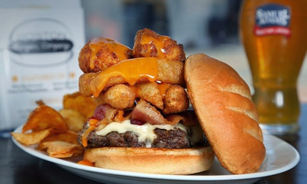 $17 for $25 Worth of Gourmet Burgers and Sandwiches at Boston Burger Company