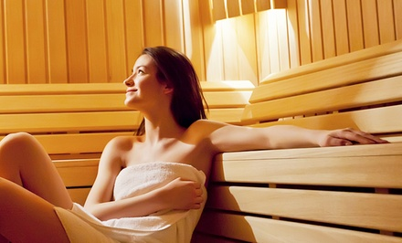 Lymphatic Treatment and Infrared-Sauna Sessions at City Sweats (Up to 51% Off). Two Options Available.