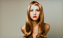 Haircut with Express Blowout or Keratin Smoothing Treatment from Stylist Debbie (Up to 51% Off)