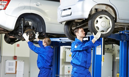 One or Two Four-Wheel Alignments at Friendly Auto Centers (Up to 52% Off)