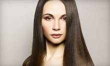 Haircut, Blow-Dry, and Deep Conditioning with Optional Partial or Full Highlights or Ombré at Envy Salon (Up to 58% Off)