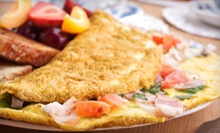 Mediterranean Brunch for Two or Four at Cayenne Cafe (Up to 55% Off)