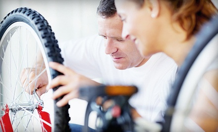 Bike Tune-Up at The Path Bicycle and Ride Shop (Up to 55% Off). Four Options Available.