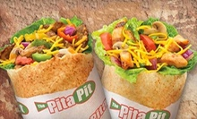 $8 for $16 Worth of Pita Wraps, Salads, and Soups at Pita Pit 