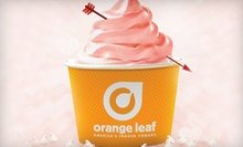 6 or 10 Vouchers, Each Good for $ 2 Off Your Bill at Orange Leaf Frozen Yogurt