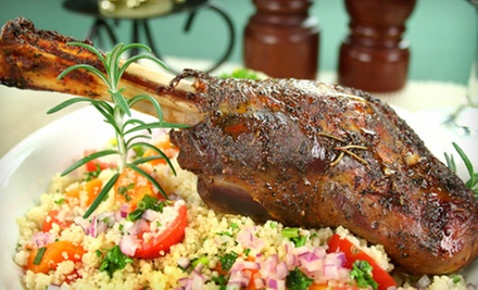 Moroccan Dinner for Two or Four at Mamounia (Up to 58% Off)