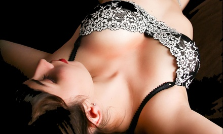 45-, 60-, or 90-Minute Boudoir Photo Session with Prints from TrueBeauty Photography (Up to 78% Off)