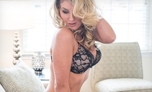 "$39 for 60-Minute Boudoir Shoot with Hairstyling, Web Gallery, and 8""x10"" Print at Nikki Riley Photography ($160 Value)"