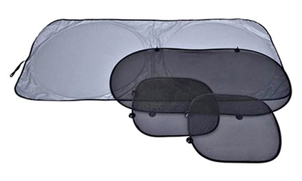 Windshield Sun Blocker 4-Piece Set
